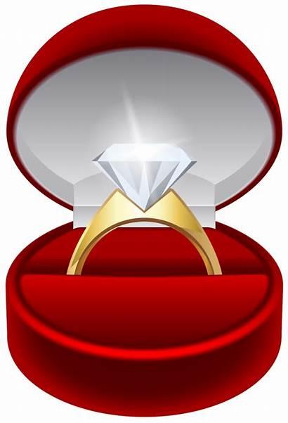 Transparent Ring Clip Engagement Clipart Diamond Rings