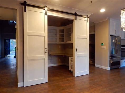 modern  panel barn door