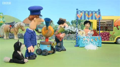 postman pat and the amazing weather machine postman pat