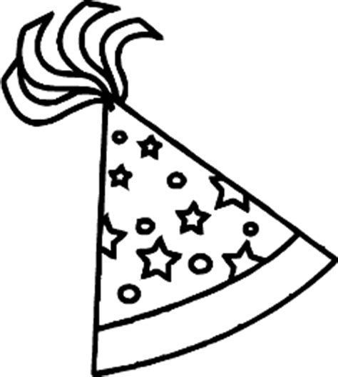 birthday hat clipart black and white new year hat black and white clipart clipart suggest