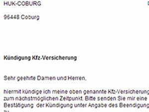 Autoversicherung Berechnen Huk : huk coburg kfz versicherung k ndigen vorlage download ~ Themetempest.com Abrechnung