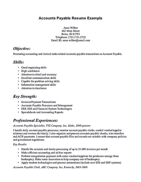 Accounting Resumes Exles by Cpa Resume Objective Resume Sles Pinterestcom