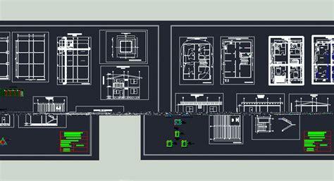 storey house  dwg plan  autocad designs cad