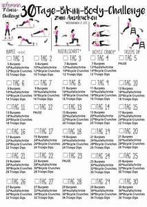 30 Tage Fitness : mach dich straff die 30 tage bikini body challenge fitness pinterest ~ Frokenaadalensverden.com Haus und Dekorationen