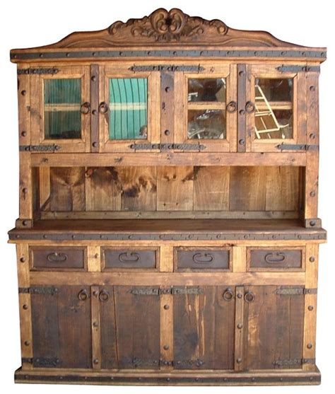 rustic corner china cabinet pine wood kitchens rustic china cabinets and hutches