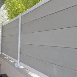 Cloture Jardin Composite Leroy Merlin by Lame En Composite 224 Embo 238 Ter Kyoto 2 1x15x176 Cm Gris
