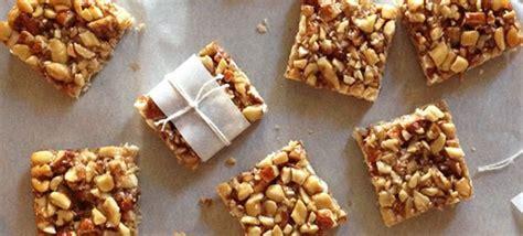honey nut bars  paleo life