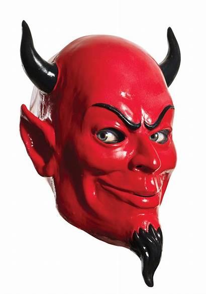 Devil Scream Mask Queens Overhead Halloween Costume