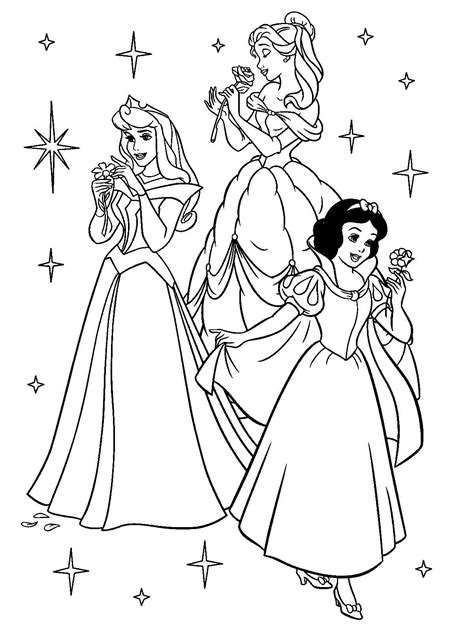 Kleurplaten Prinsessen Printen by Disney Prinsessen Kleurplaat Printen Kleurplaat Voor