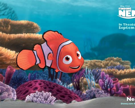 Finding Nemo Widescreen Background For Ipad