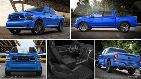 2018 Ram 1500 Hydro Blue Sport   Caricos.com