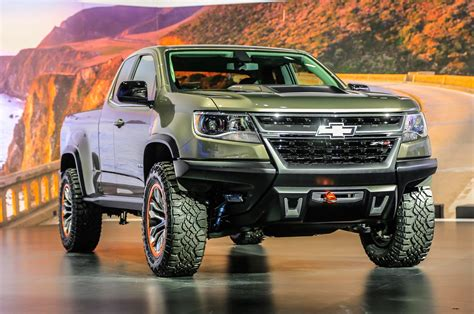 Chevrolet Colorado Zr2 Priced At ,995, May Be Off-road