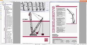Terex Demag Crawler Crane Cc2800