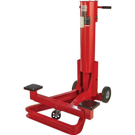 strongway   ton air bumper jack northern tool