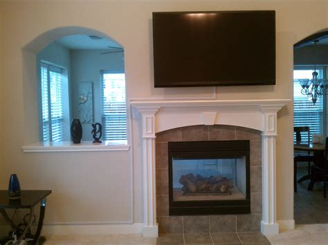 vesta tv installation a fireplace pictures