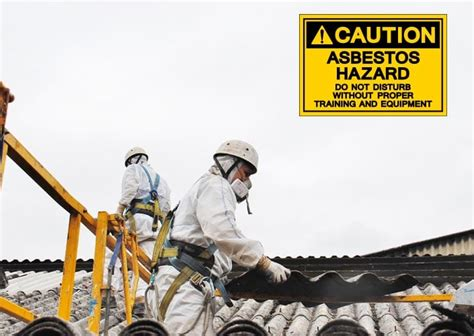 fine  unsafe asbestos removal dalton international