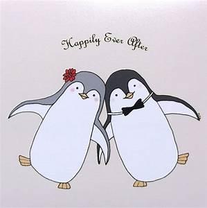 Penguin Love Illustration Print Cute Penguin by mikaart on ...