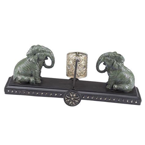 elephant candle holder bombay outdoors elephant patio tea light holder a004051