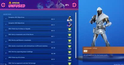 fortnite unfused challenges   unlock gamewith