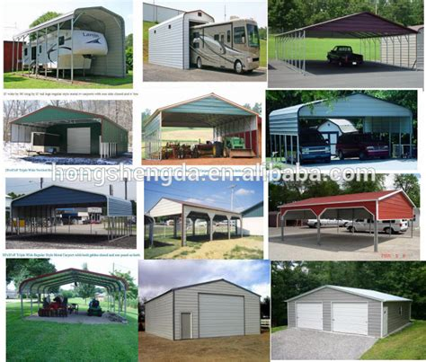 lowes  portable metal car garage canopy tents carports  sale buy  carports  sale