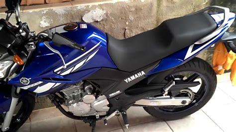 Yamaha Fazer YS250 Racing Blue - primeiras modificações ...