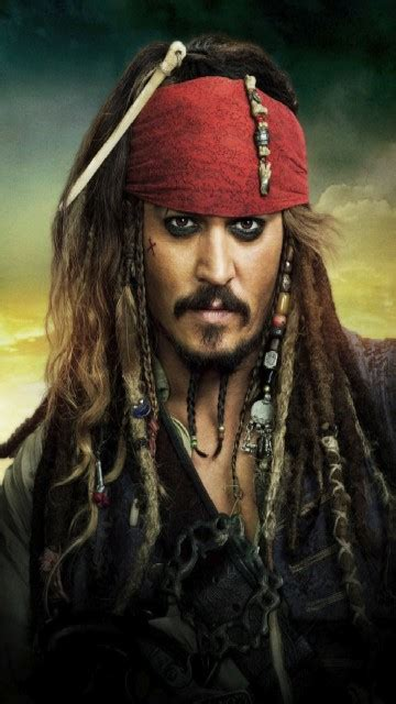 Download Captain Jack Sparrow 360 X 640 Wallpapers