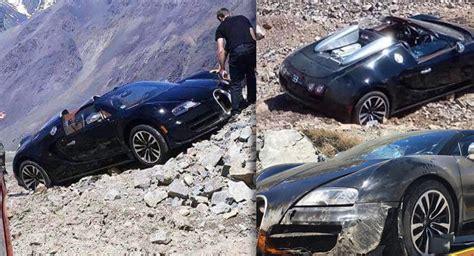 Bugatti Veyron Vitesse Crashes In The Andes Mountains