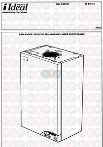 Ideal Isar M30100 Appliance Diagram  Appliance Overview