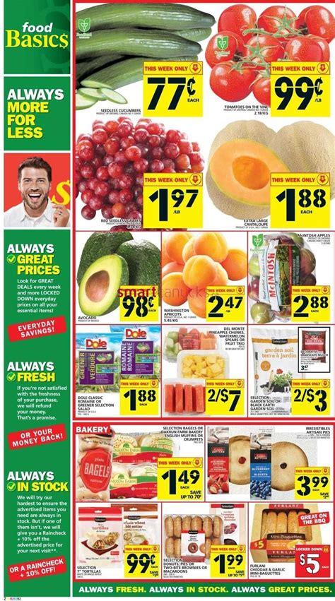basics of cuisine food basics flyer june 18 to 24
