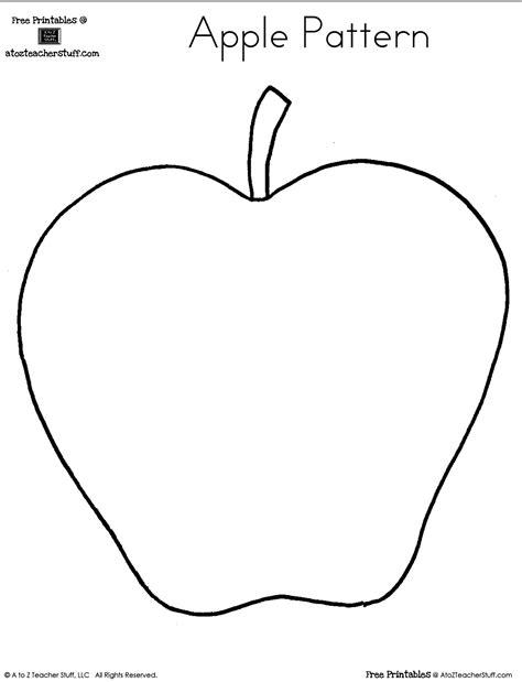 printable apple pattern a to z stuff printable