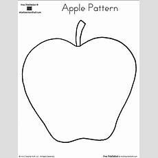 Printable Apple Pattern  A To Z Teacher Stuff Printable
