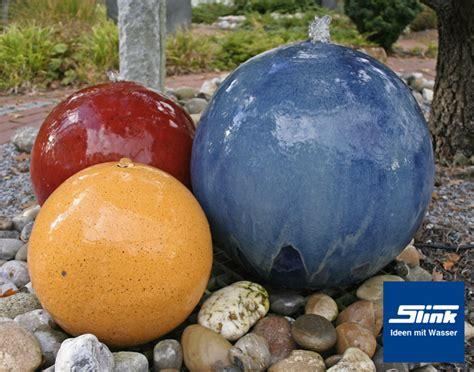 Gartenbrunnen Keramikkugel Trio Onlineshop Kugelbrunnen