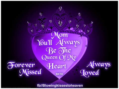 Missing My Mom Heaven Quotes