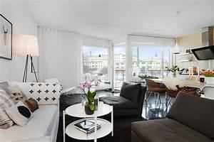 Scandinavian, Apartment, Interior, Design, U2013, Adorable, Home