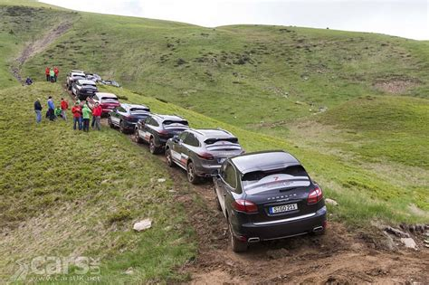 off road porsche porsche shows cayenne can do off road just like the new