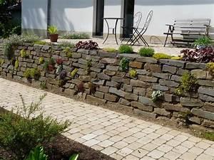 Gartengestaltung Böschung Gestalten : nabbefeld schages garten und landschaftsbau terrassenmauer ~ Markanthonyermac.com Haus und Dekorationen