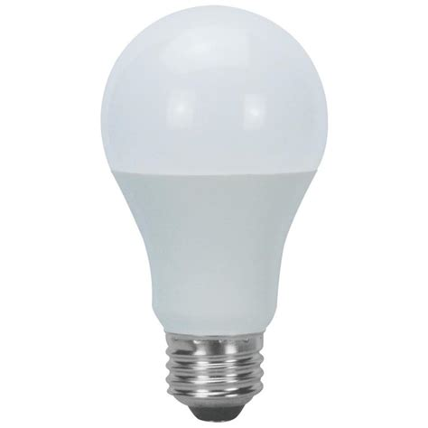 lowes light bulbs shop utilitech 6 pack 60w equivalent daylight a19 led
