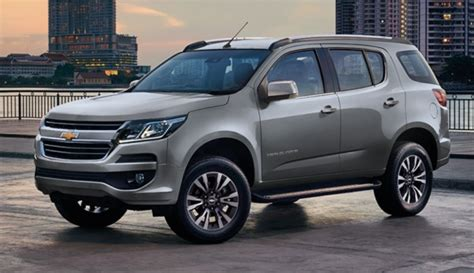 chevrolet trailblazer review price  release