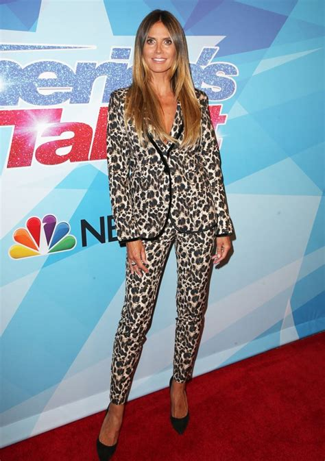 Heidi Klum Picture Premiere Nbc America Got