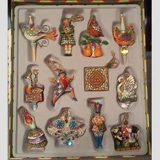 Jim Shore Twelve Days Of Christmas Ornaments  Set Of 12 (retired)  Ebay  12 Days Of Christmas