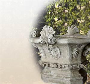 Blumentöpfe Aus Stein : stilvolle steinvasen garten sandstein stein ~ Lizthompson.info Haus und Dekorationen