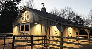 horse barns horizon structures With build your own horse barn