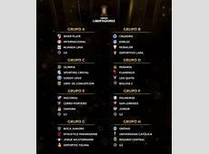 Conmebol sorteó la primera fase de la Copa Libertadores