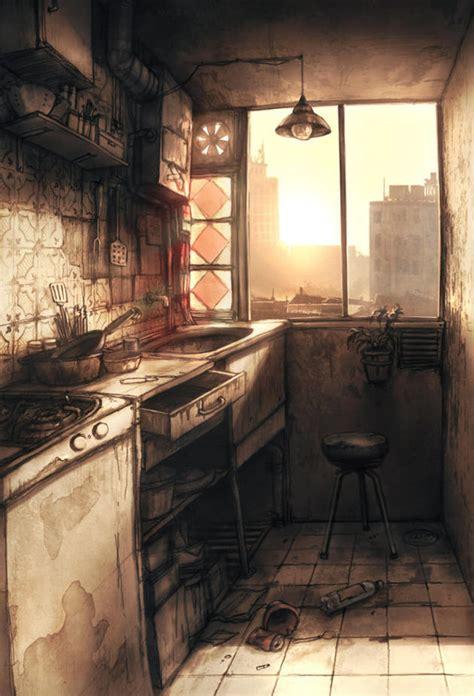 incredible post apocalypse art  pics    waste