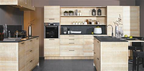 cuisine moderne bois clair cuisine bois brut meuble bas cuisine bois massif cuisine