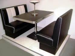 Banquette 120 Cm : banquette diner am ricaine vintage d coration us 50 39 s et 60 39 s ~ Melissatoandfro.com Idées de Décoration