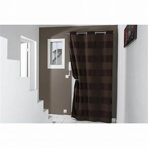 Tringle Porte D Entrée : kit de tringle rideau m tal ib leroy merlin ~ Premium-room.com Idées de Décoration