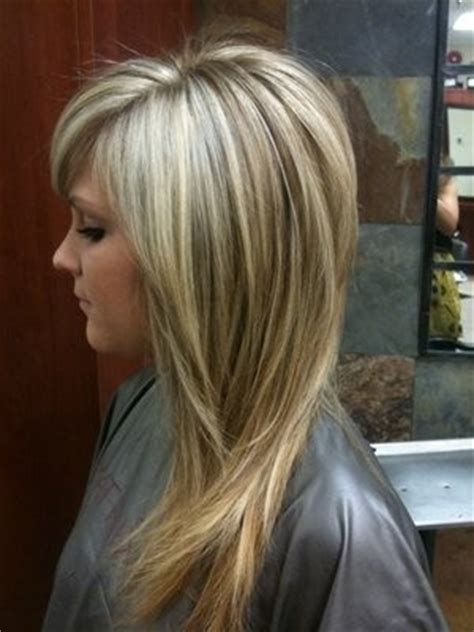 layered hair cut and highlights hair sublime