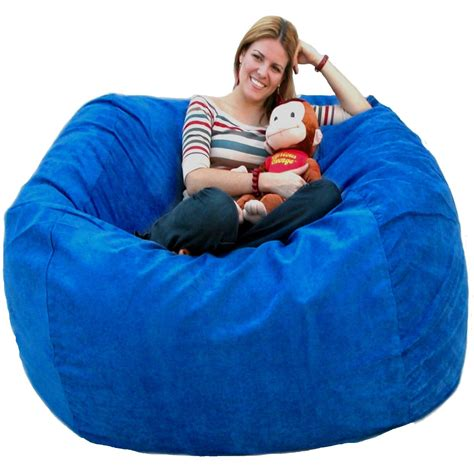 bean bag chair large 5 foot cozy sack premium foam filled