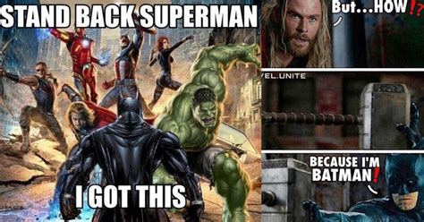 side splitting justice league  avengers memes